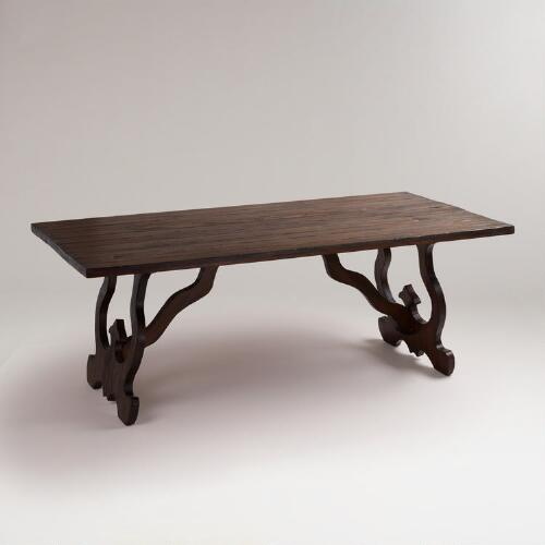 Espresso Romeo Dining Table