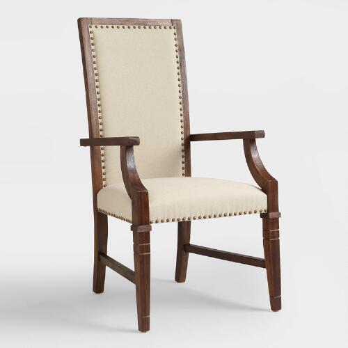 Rustic Java Greyson Armchair, Set of 2