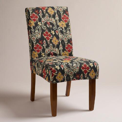 Ikat Short Anna Chair Slipcover