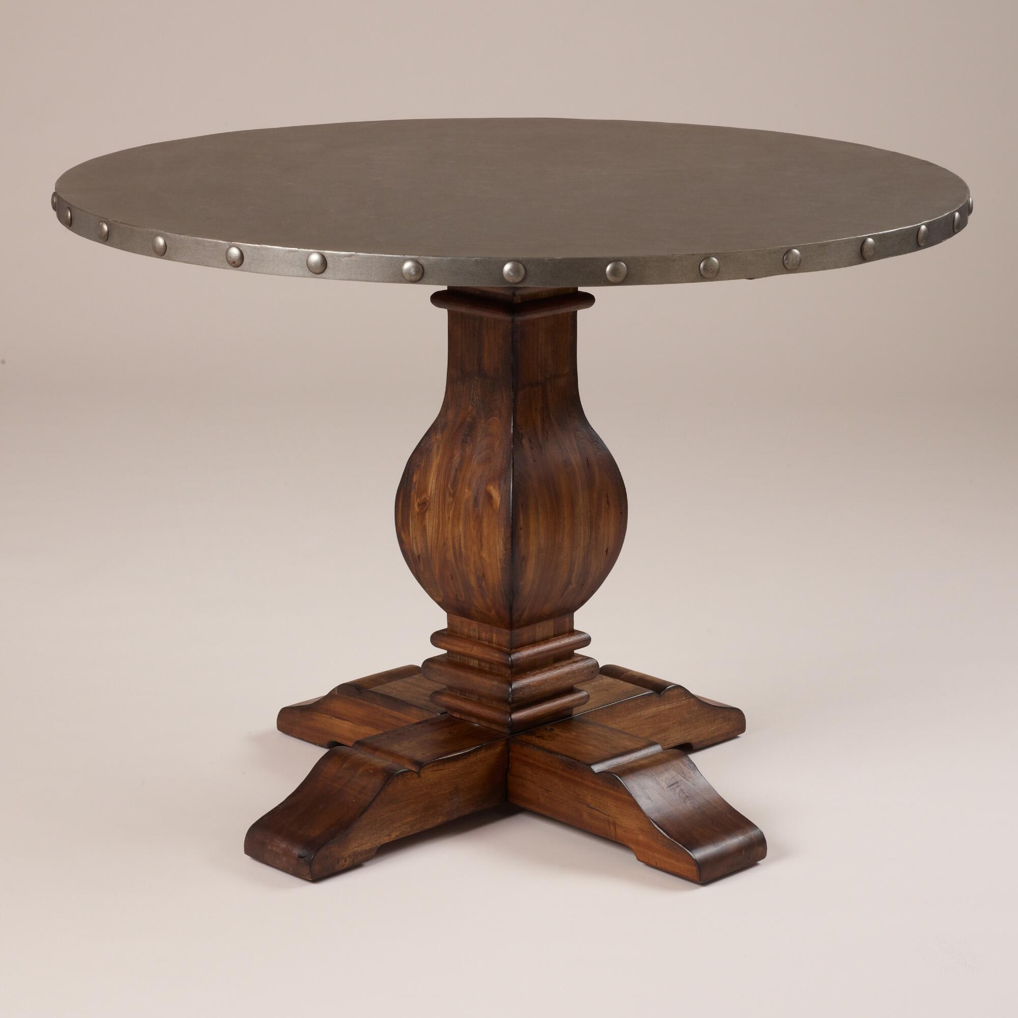 Cooper round dining table world market for Round dining table