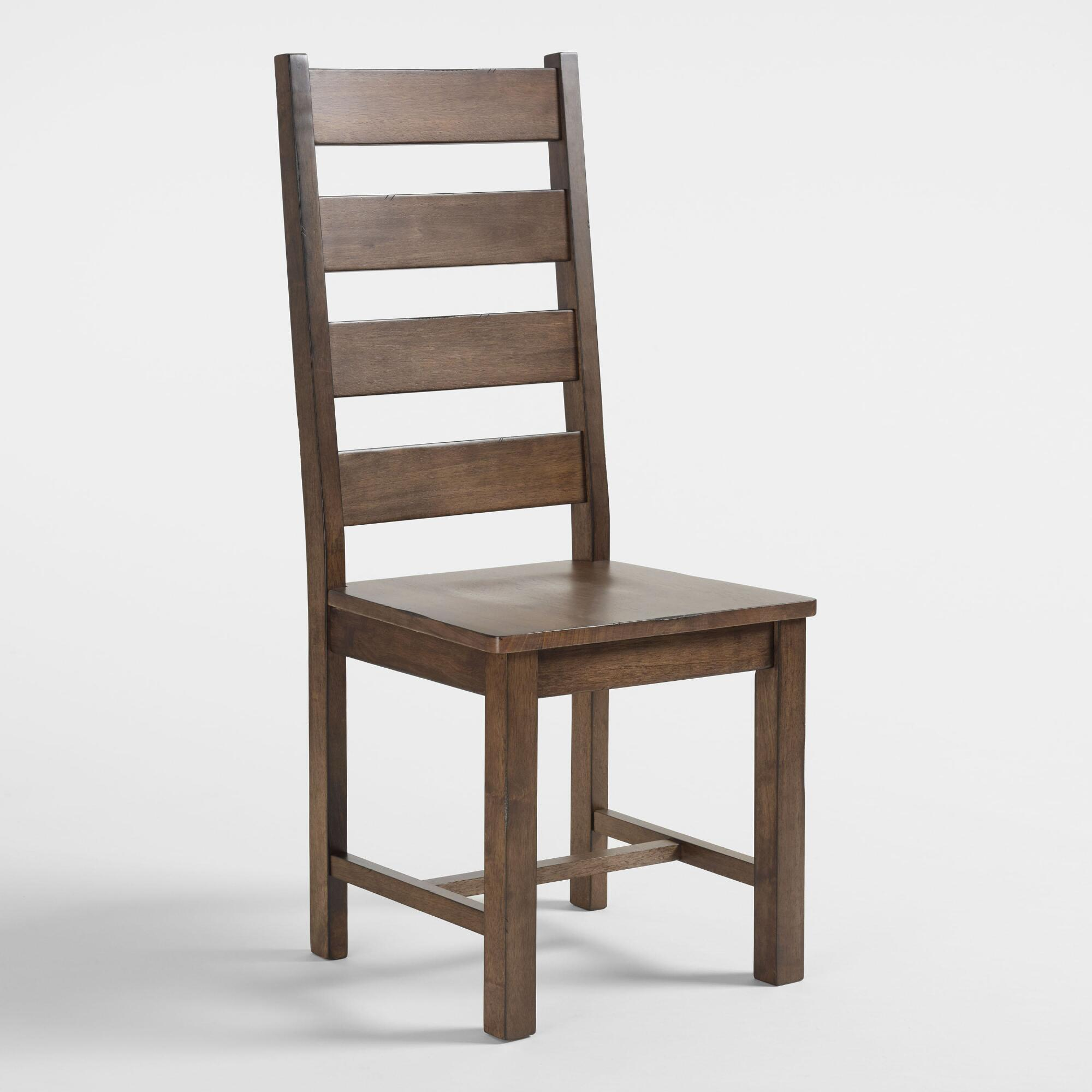 Wood garner dining chairs set of world market