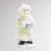 Paper Pulp Old-World Santa with Tree Ornament
