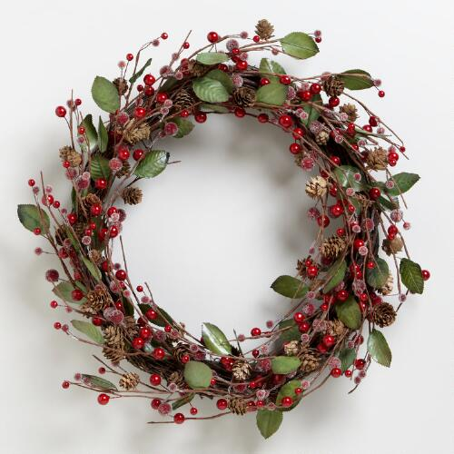 Sugar Berries Wreath