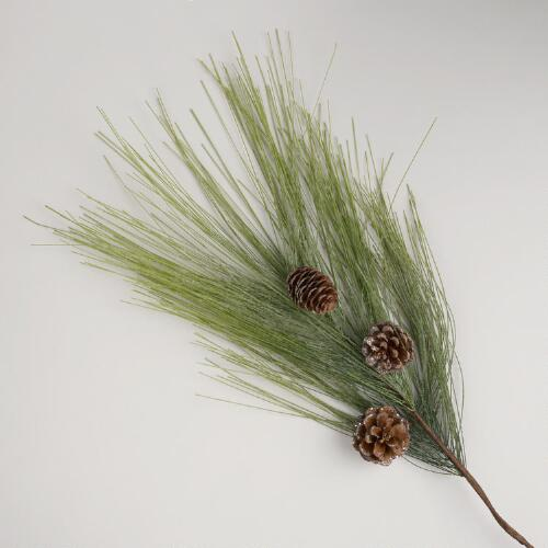 Pine Stem with Natural Pinecones