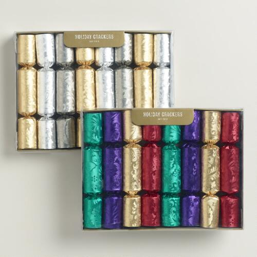 Boxed Multicolor Embossed Crackers