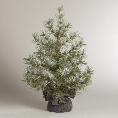 "20"" Frosty Bristle Pine Tree"