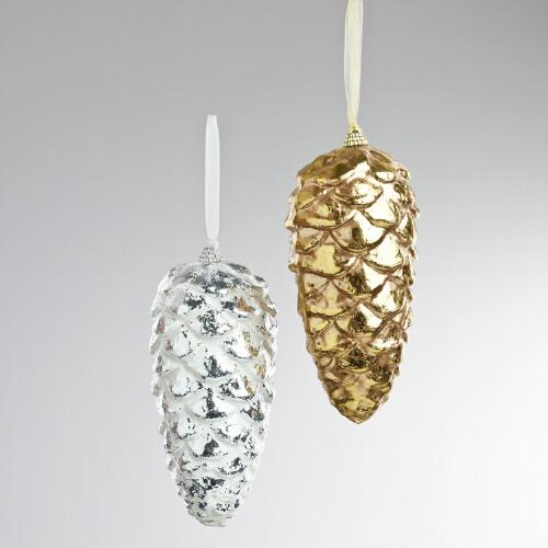 Pinecone Wall Decor, Set of 2