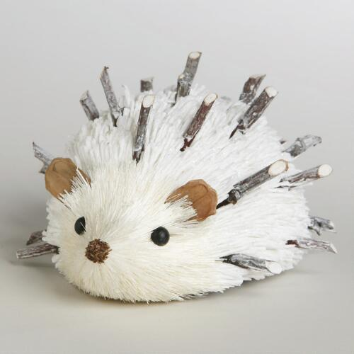 Twig and Paper Hedgehog