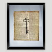 Key Print Wall Art