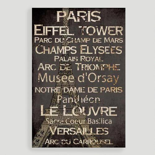 Paris Words