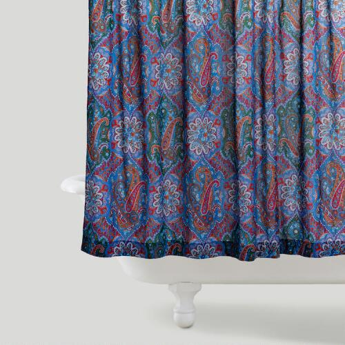 Rialto Paisley Shower Curtain
