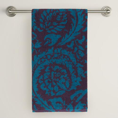 Mysterioso Ocean Depths Sofia Bath Towel