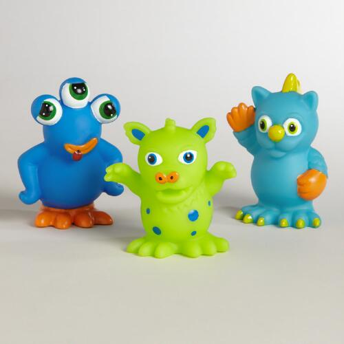 Monster Squirters, Set of 3