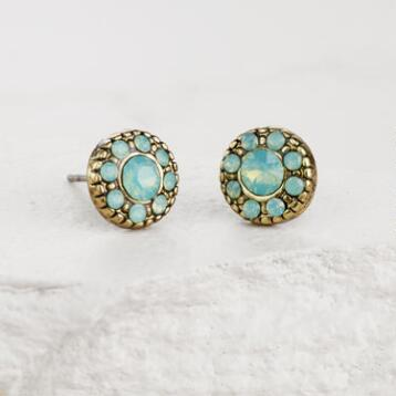 Pacific Opal Stud Earrings