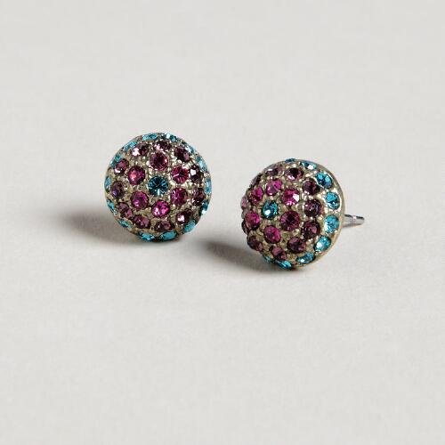 Multicolor Stud Earrings