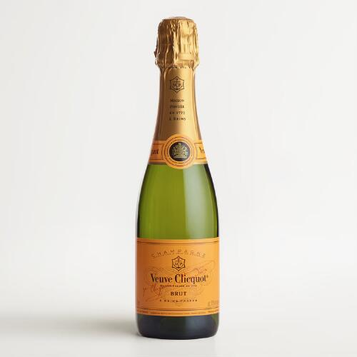Veuve Clicquot Yellow Label Champagne, 375ml