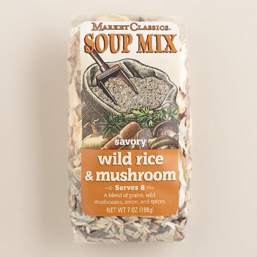 Market Classics® Wild Rice & Mushroom Soup Mix, Set of 2
