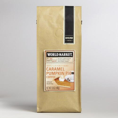 12 oz. World Market® Pumpkin Caramel Coffee, Set of 6