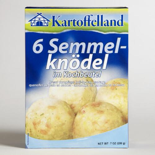 Kartoffelland  Boil-in-bag Bread Dumpling, Set of 7