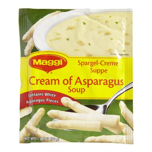 Maggi Cream of Asparagus Soup, Set of 13