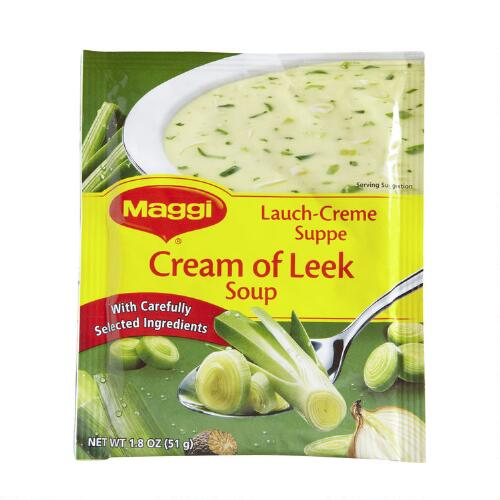 Maggi Cream of Leek Soup, Set of 13