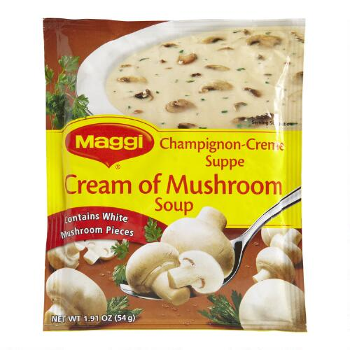 Maggi Cream of Mushroom Soup, Set of 6