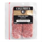 Columbus Italian Dry Sliced Salame, Set of 6