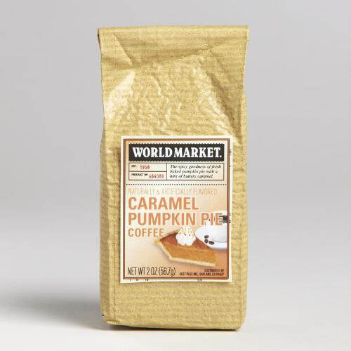 2 oz. World Market® Pumpkin Caramel Coffee, Set of 12