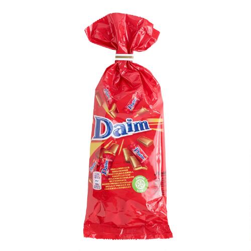 Daim Chocolate Tie Top Bag