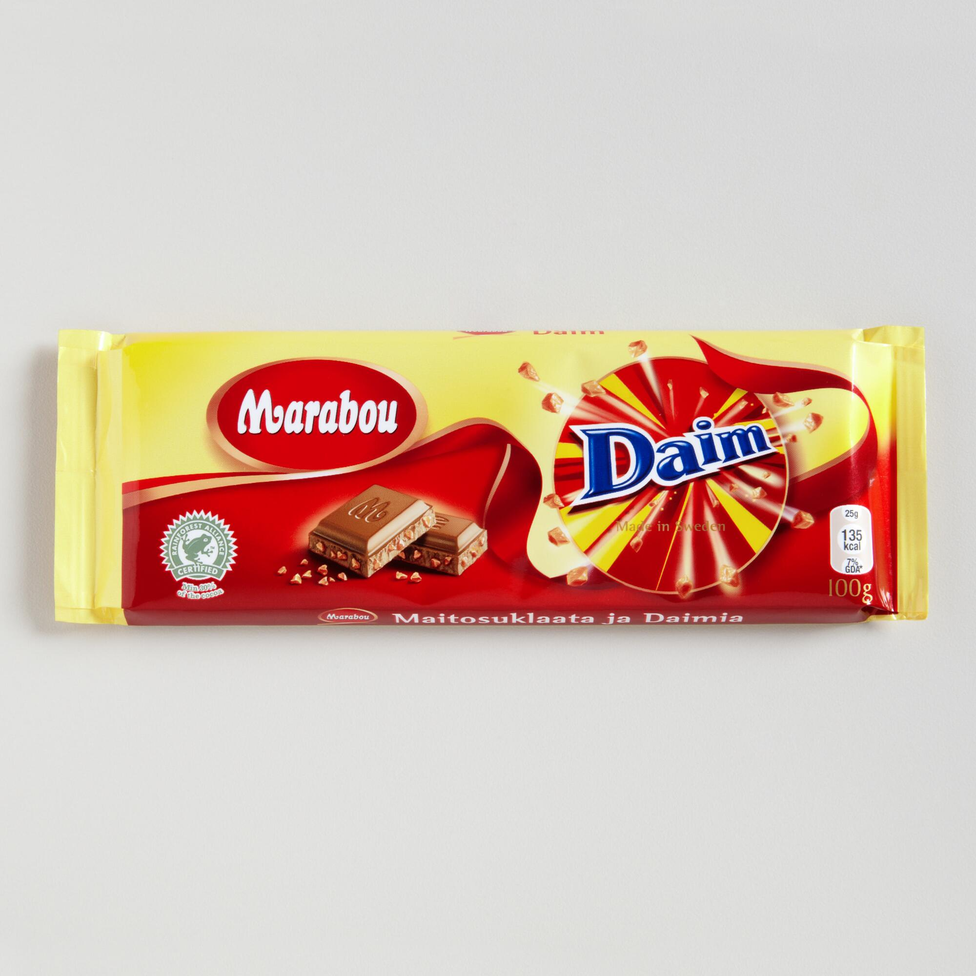 daim marabou milk chocolate bar world market