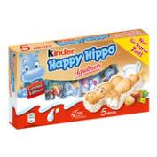 Kinder Happy Hippo Hazelnut Biscuit 5-Pack, Set of 5
