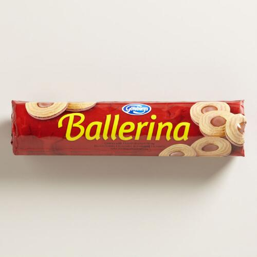 Goteborgs Ballerina Chocolate Hazelnut, Set of 6