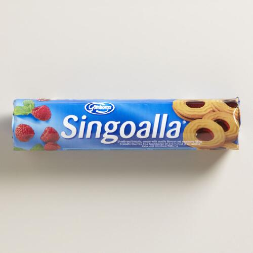 Goteborgs Singoalla Raspberry Biscuits, Set of 6