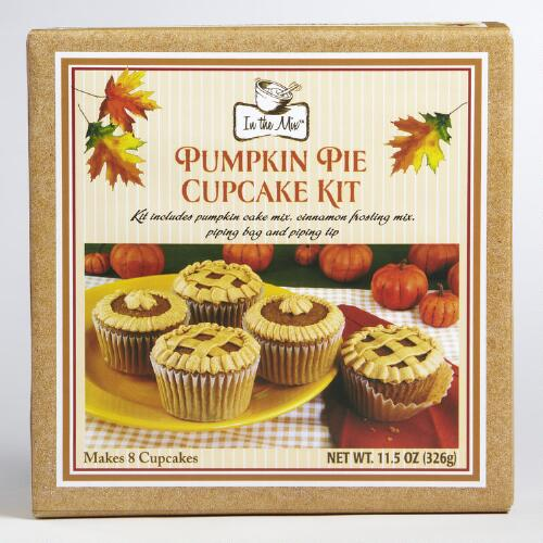 Pumpkin Pie Cupcake Kit