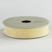 5/8 Inch Cream Organza Ribbon