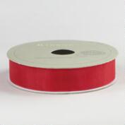 5/8 Inch Poppy Organza Ribbon