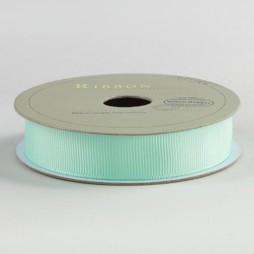 5/8 Inch Green Grosgrain Ribbon