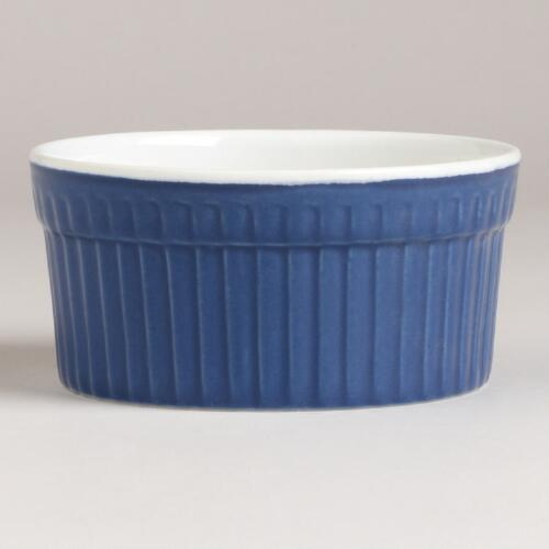 Blue Ramekin 3.5 oz