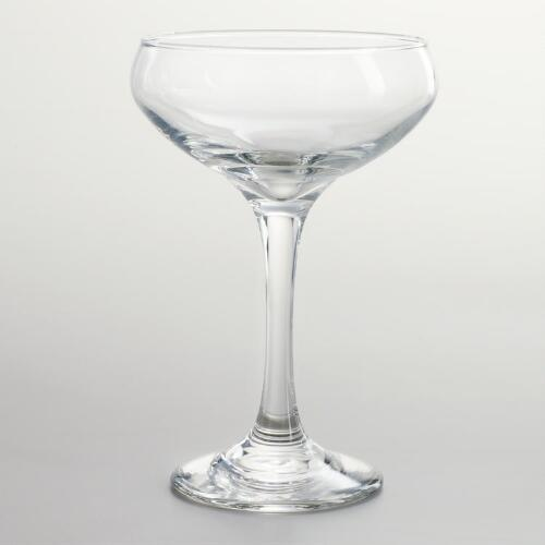 Coupe Champagne Glasses, Set of 4