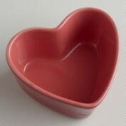 Red Heart-Shaped Ramekin