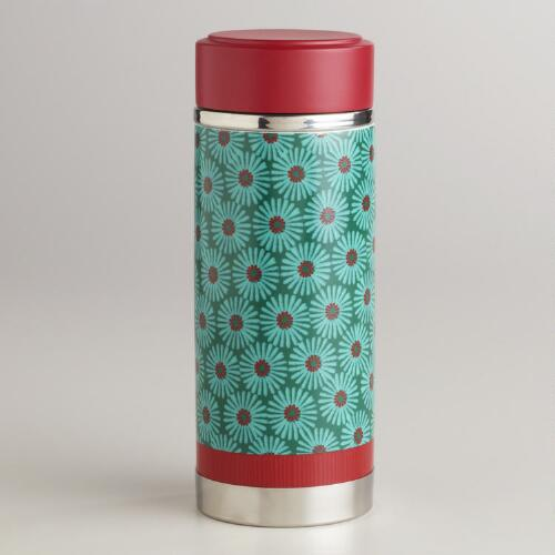 Teal Ceramic Tea Carafe
