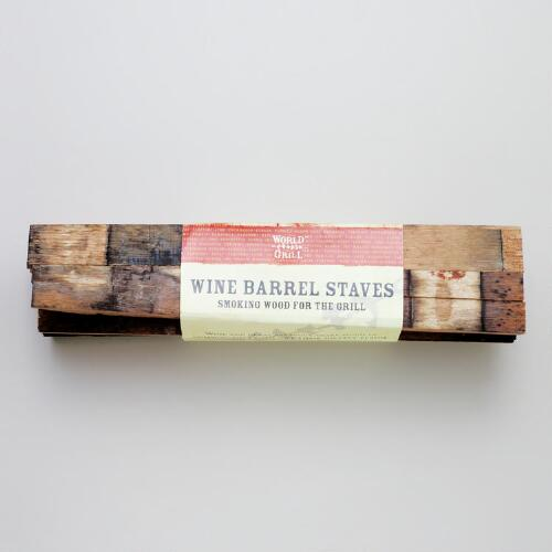 Wine Barrel Staves