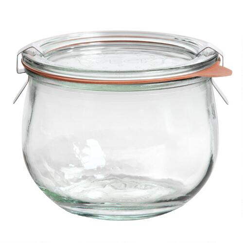 1/2 Liter Glass Weck Jar