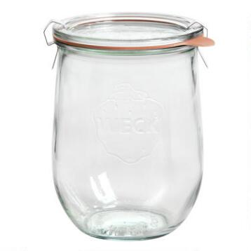 1 Liter Glass Weck Jar