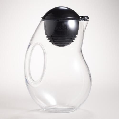 Black Bobble Filter Pitcher