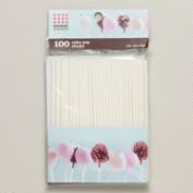 Cake Pop Sticks, Set of 100