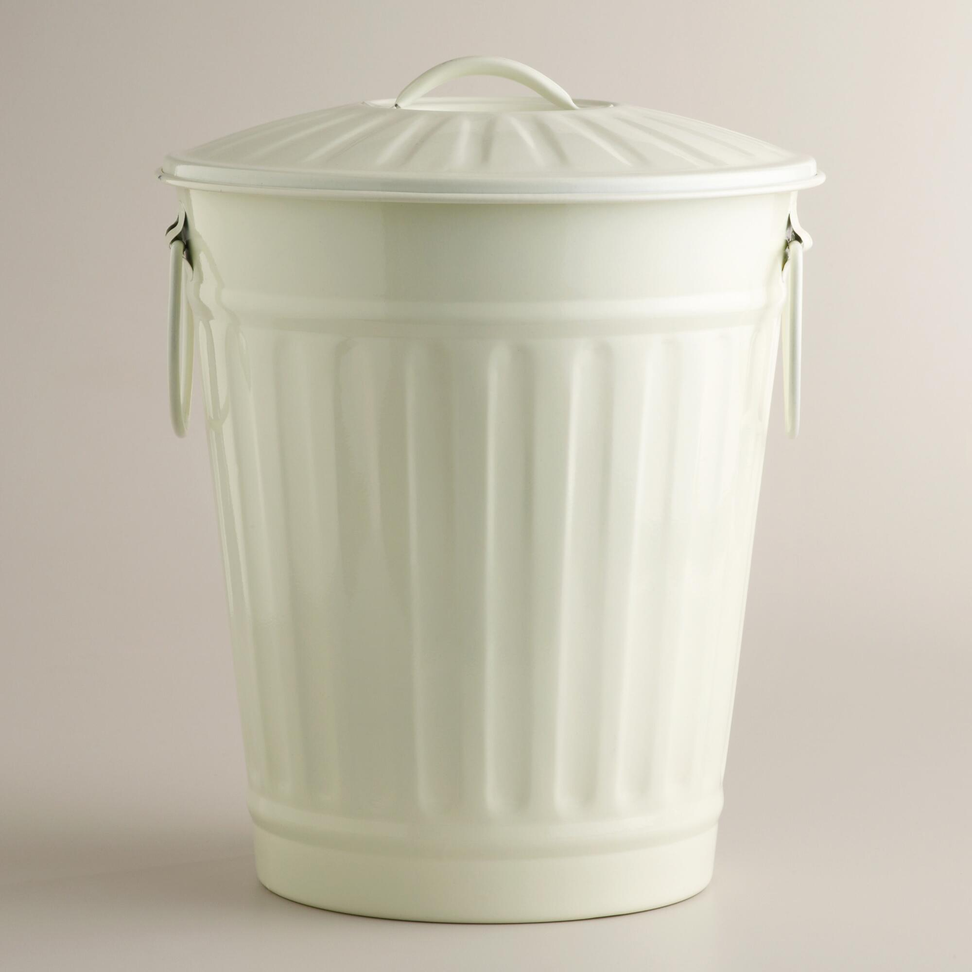 Retro Kitchen Trash Can Track Lighting Cans Home And Furnitures Reference