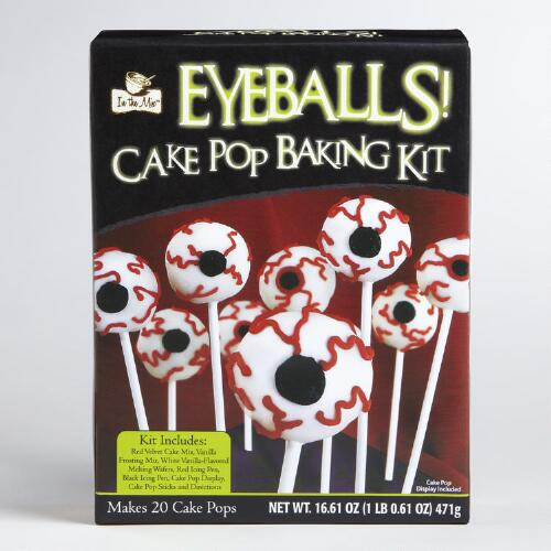 Eyeball Cake Pop