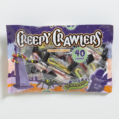 Creepy Crawlers Gummy Candy Bag