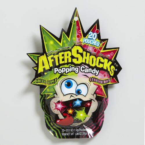 Halloween AfterShocks Popping Candy Bag